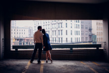 Ryan & Mary | Engagement Session | Downtown Grand Rapids, MI